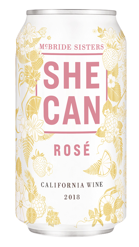 McBride Sisters Collection SHE CAN 2018 California Rosé