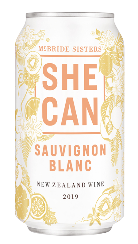 McBride Sisters Collection SHE CAN 2018 New Zealand Sauvignon Blanc