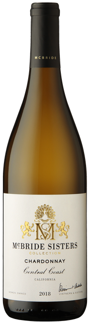 McBride Sisters Collection 2018 Central Coast California Chardonnay