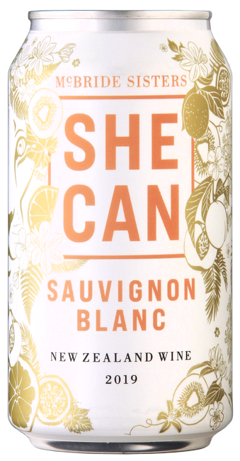 SHE CAN New Zealand Sauvignon Blanc 4-Pack